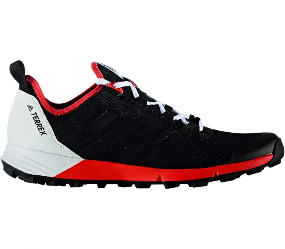 Adidas - Terrex Agravic Speed men's Mountain running shoes (black/red)