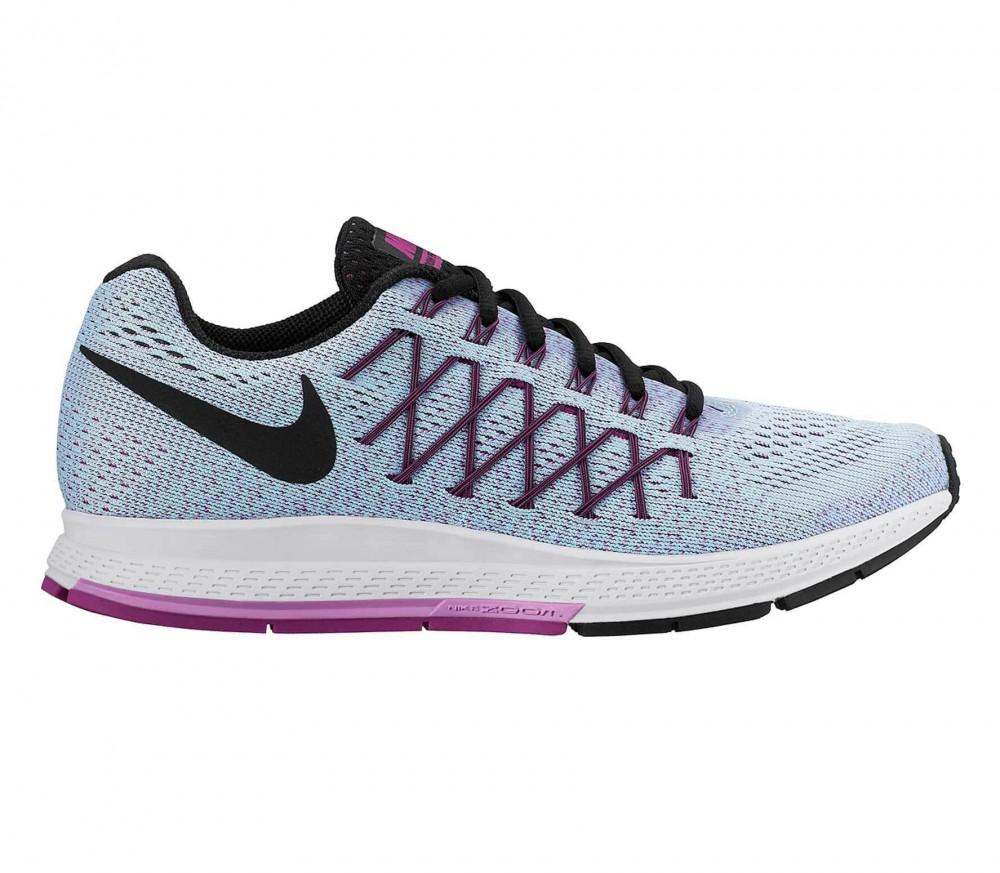 Nike - Air Zoom Pegasus 32 Kvinder løbesko (lyseblå/lilla)