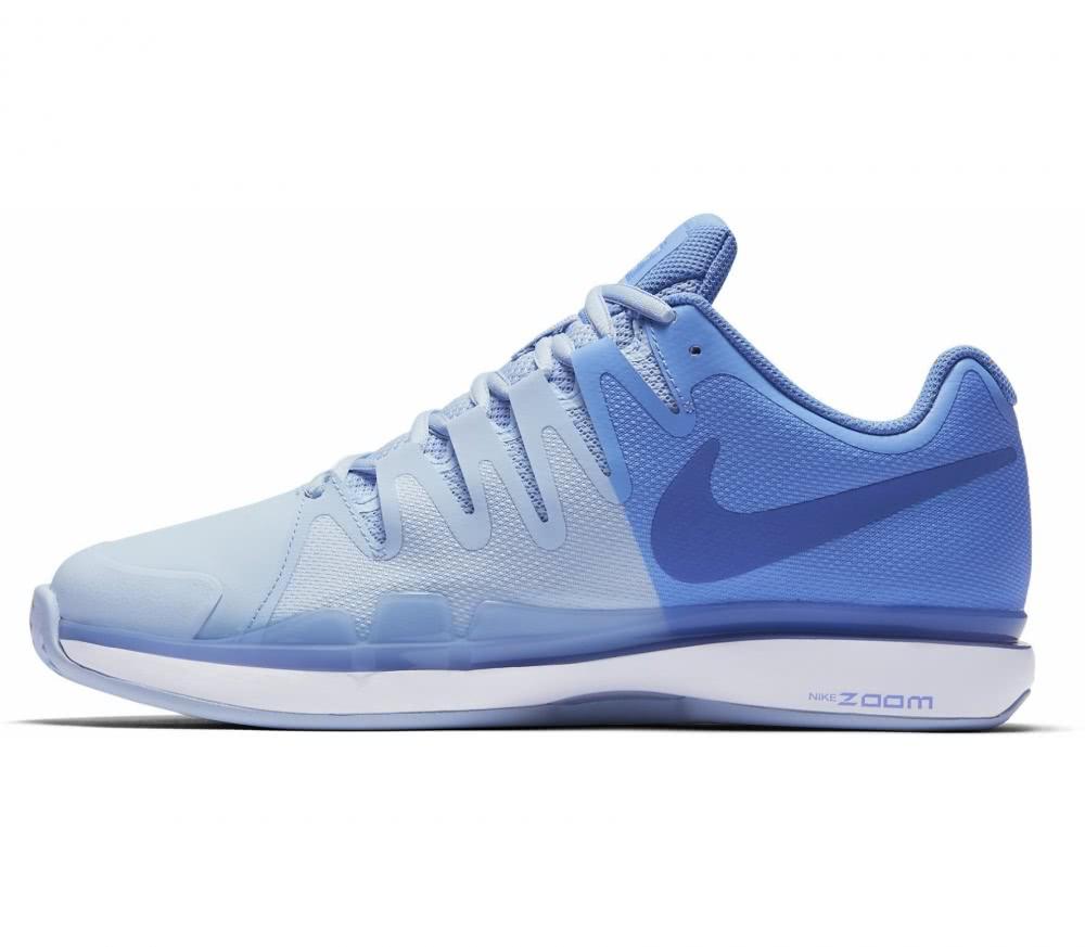 Nike - Zoom Vapor 9.5 Tour Clay Kvinder Tennis Shoe (blå/hvid)