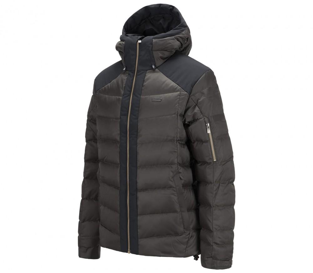 peak performance montano down men 39 s ski jacket black. Black Bedroom Furniture Sets. Home Design Ideas